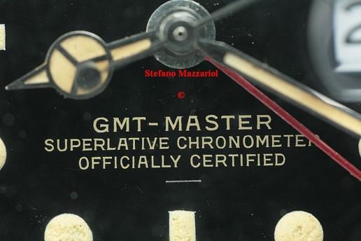 Rolex GMT 1675 underline