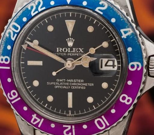 Rolex GMT 1675 minuteria chiusa