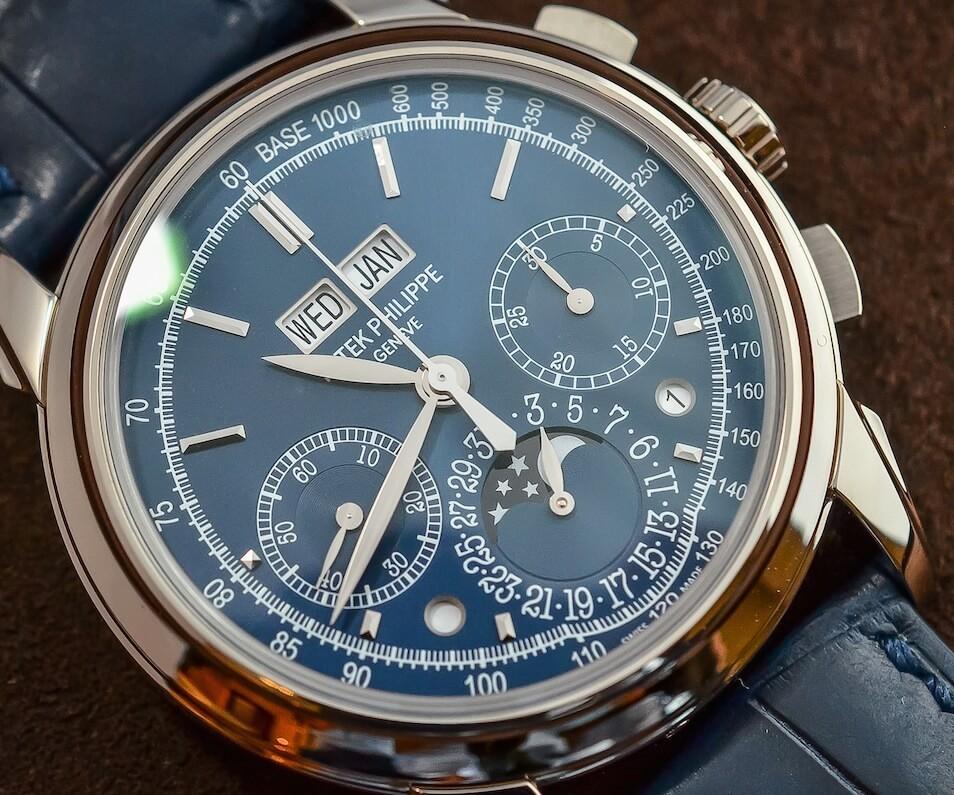 5270g blue dial