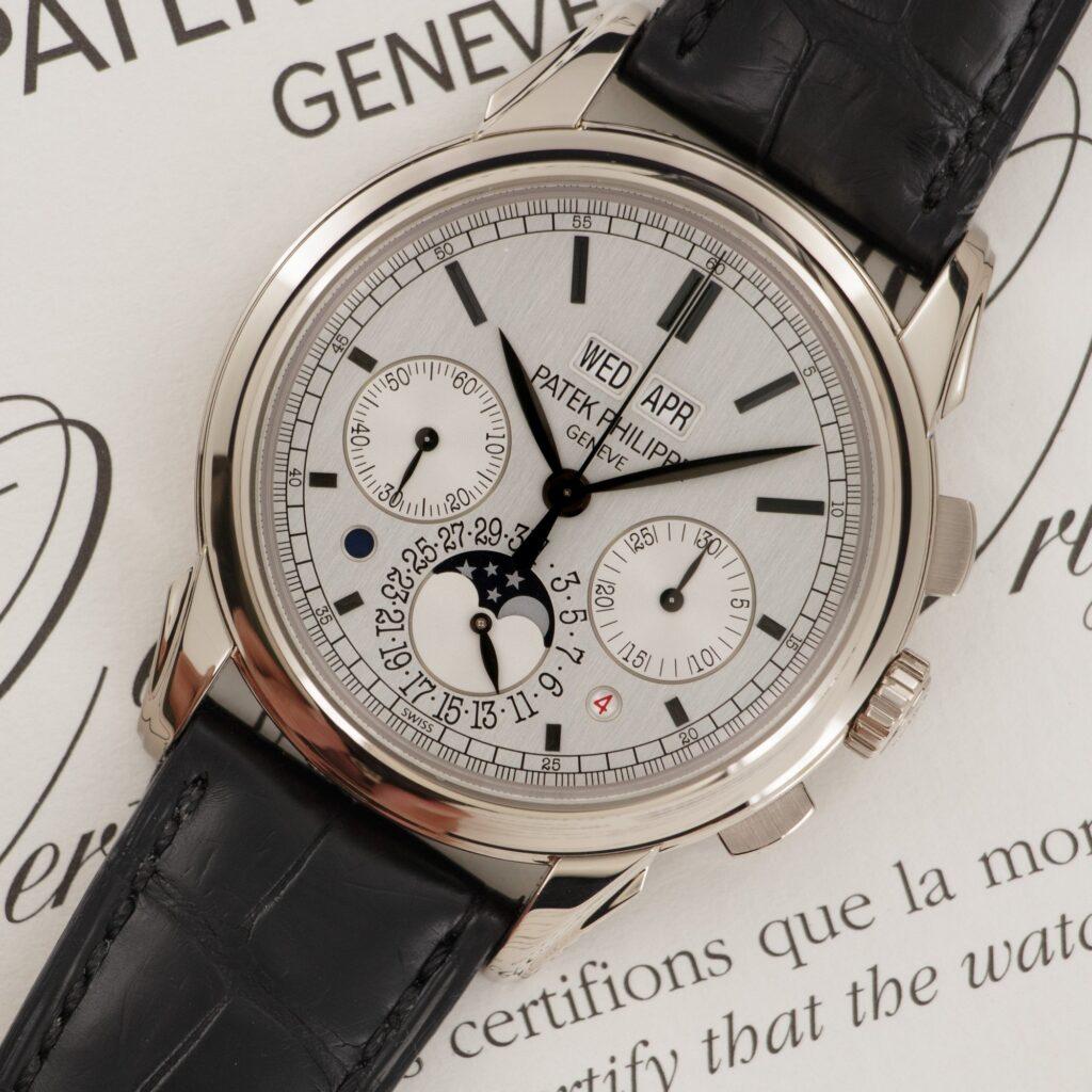 Patek Philippe 5270 Perpetual Calendar white dial