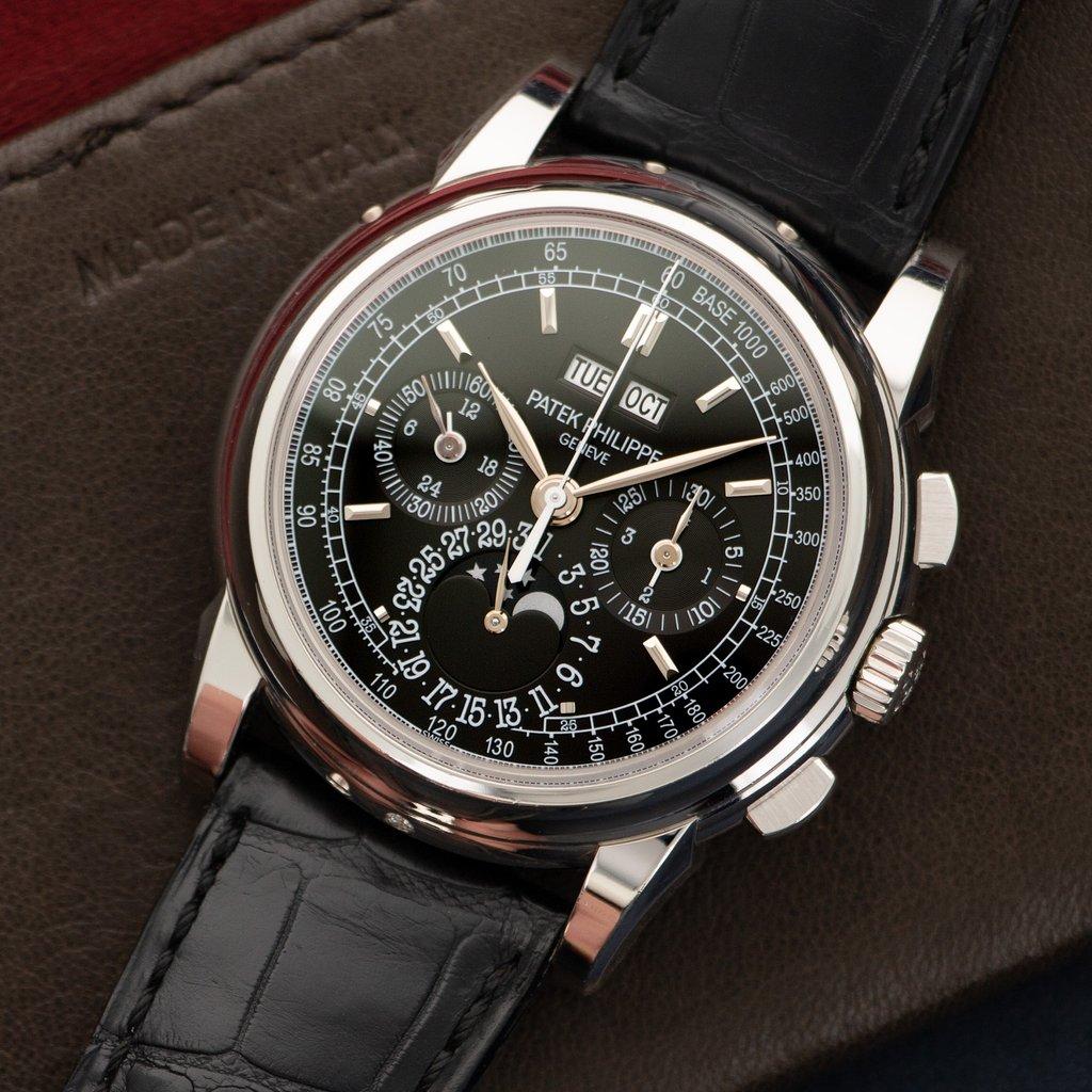 Patek Philippe 5970 black dial