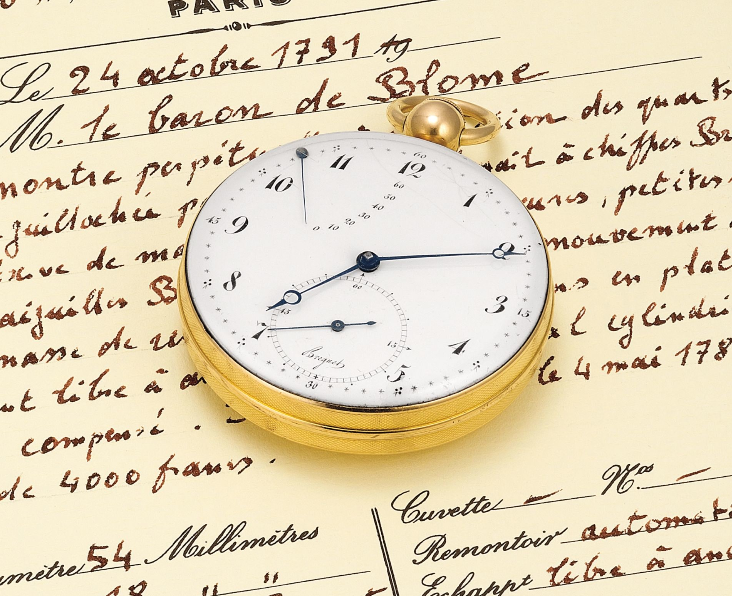 Breguet pocket watch