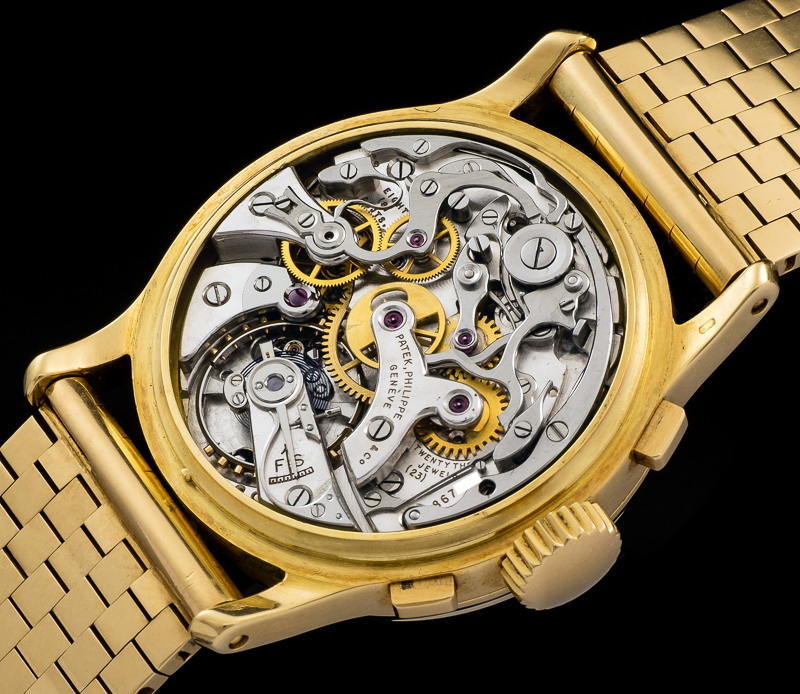 1518 yellow gold movement 13-130q