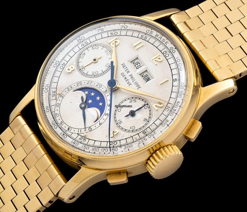 Patek Philippe 1518 yellow gold