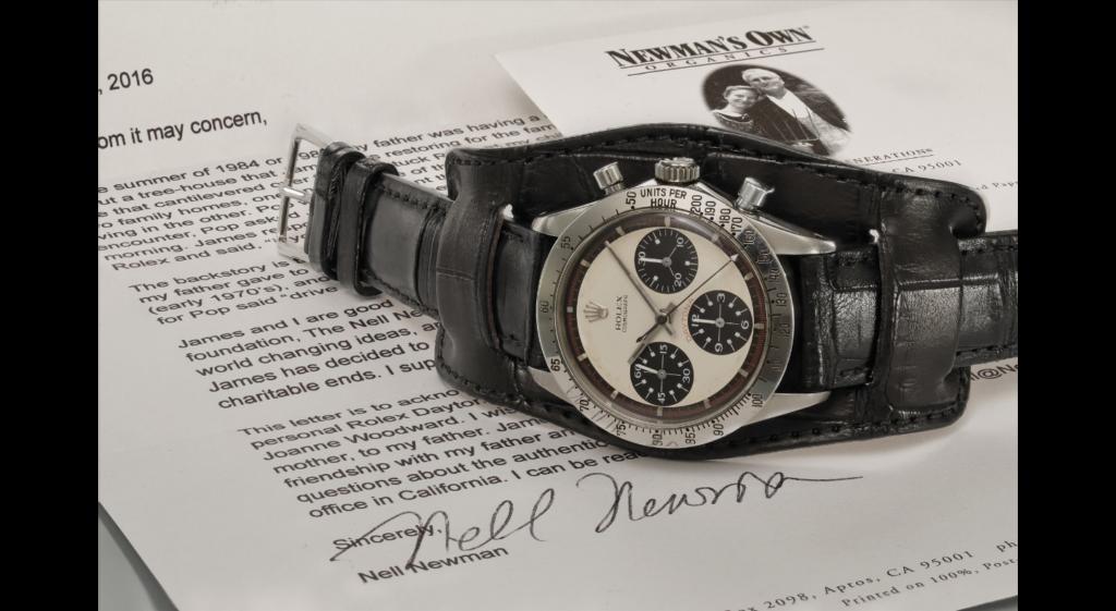 Paul Newman Rolex Daytona 6239 ItalianWatchSpotter IWS front