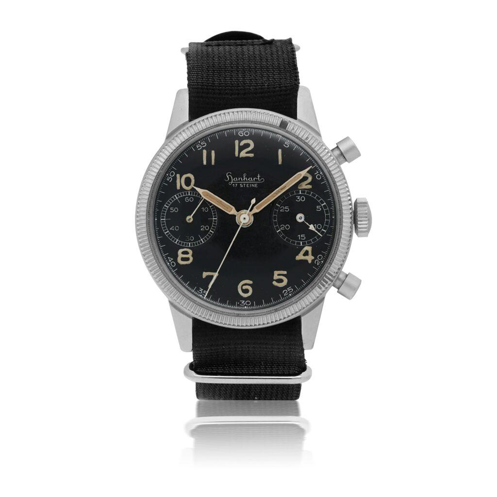 Steve McQueen Hanhart 417 watch orologio