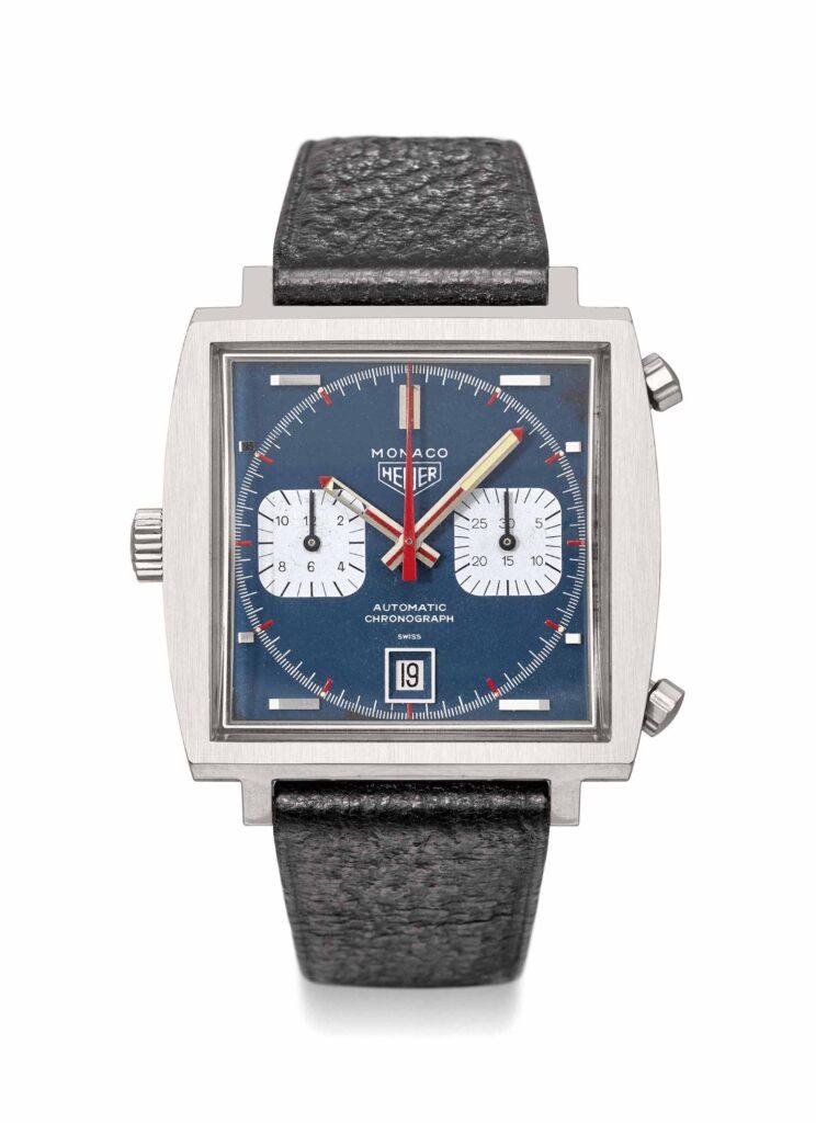 Steve McQueen Tag Heuer Monaco watch orologio