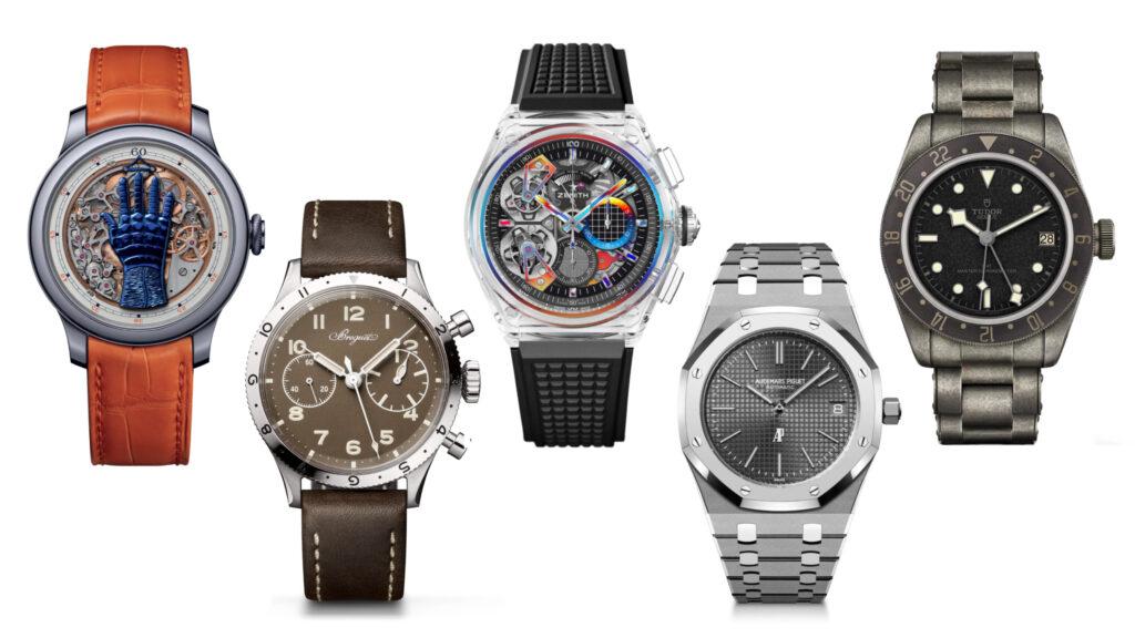 alcuni degli orologi presenti nella nostra Top 10 Onlywatch 2021