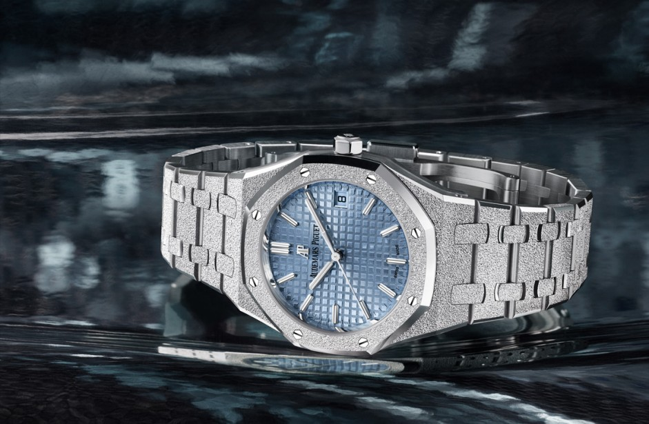 Royal Oak Frosted Gold automatico