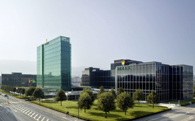 Rolex Acacias headquarters in Geneva